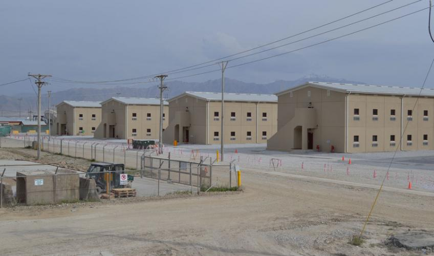 Barracks 15 18 Project Bagram Air Base Afghanistan 77