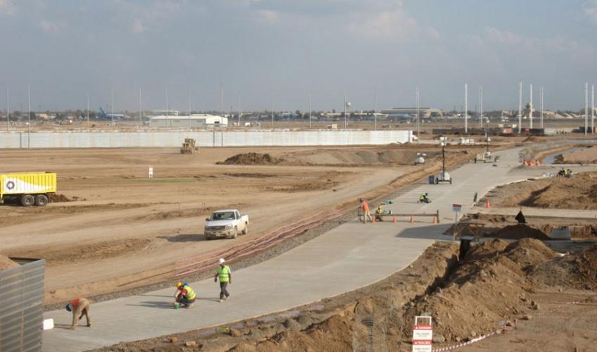Design Amp Construct Munitions Storage Area Balad Air Base