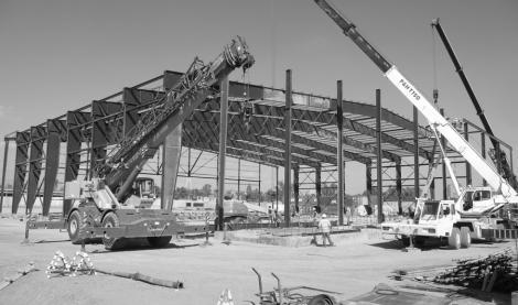 CONSTRUCTION OF TEMPORARY FERNANDEZ LANDING ZONE , (GREEN